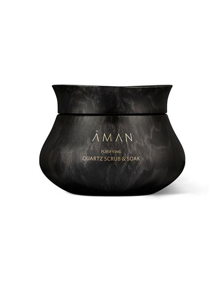 Aman Purifying Quartz Scrub & Soak, 8.5 oz. / 250 mL