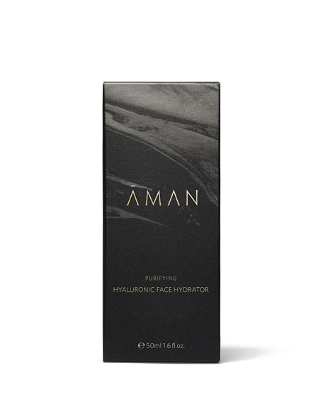 Aman Purifying Hyaluronic Face Hydrator, 1.7 oz. /  50 mL