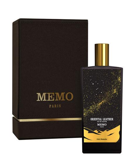 Memo Paris Oriental Leather Eau de Parfum, 2.5 oz. / 75 mL