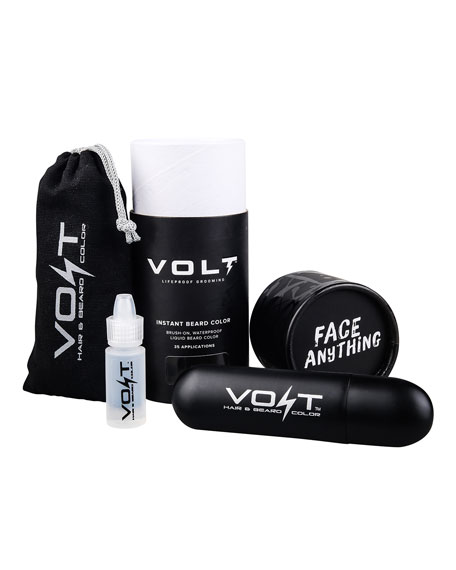 VOLT Grooming Instant Beard Color - Ash (Gray/Brown)