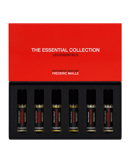 Frederic Malle The Essential Collection: First encounter for men, 6 x 3.5 mL