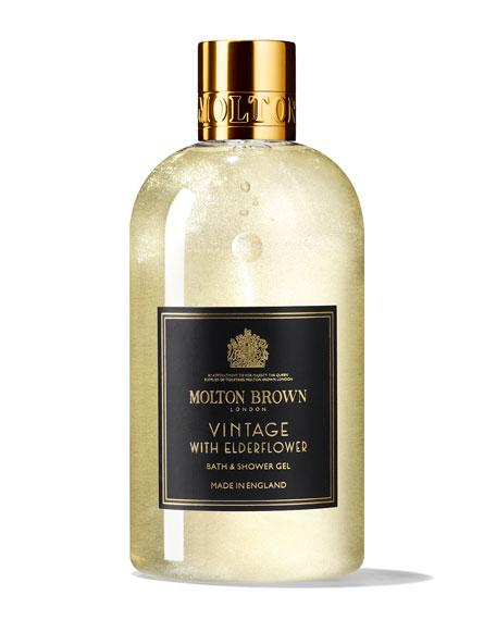 Molton Brown Vintage With Elderflower Bath & Shower Gel, 10 fl. oz./ 300 mL