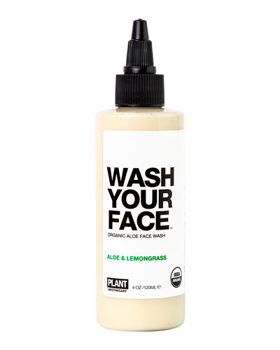 WASH YOUR FACE Organic Aloe Face Wash  4 oz.