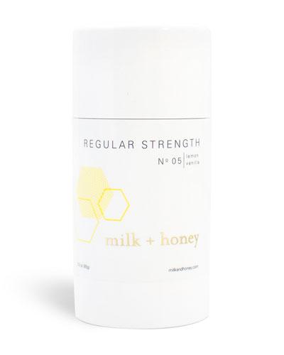 Regular Strength Deodorant No.05 (Lemon, Vanilla), 2.6 oz / 75g
