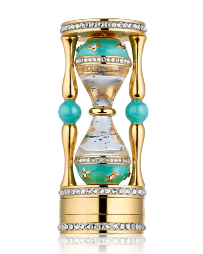 Beautiful Jeweled Hourglass