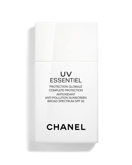 CHANEL <b>UV Essentiel</b><br>Complete Protection Antioxidant Anti-Pollution Sunscreen Broad Spectrum SPF 50, 1 oz./ 30 mL