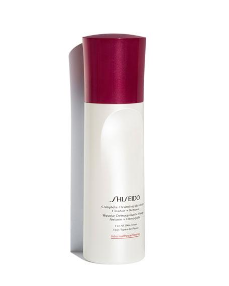 Shiseido Complete Cleansing Microfoam, 6 oz./ 180 mL