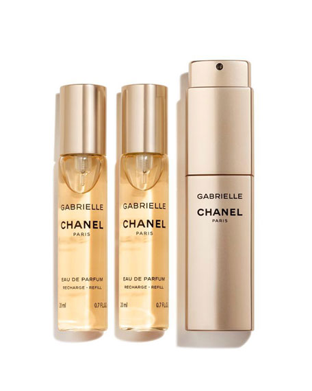 CHANEL <b>GABRIELLE CHANEL</b><br>Eau de Parfum Twist and Spray, 3 x 0.7 oz.