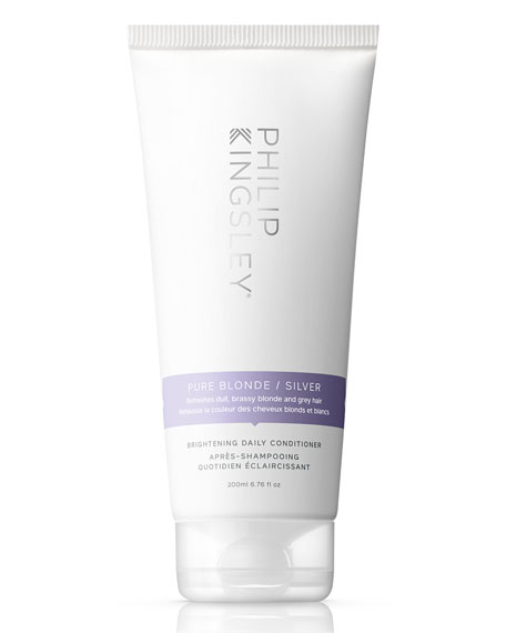 Philip Kingsley Pure Blonde/Silver Brightening Daily Conditioner, 6.8 oz./ 200 mL