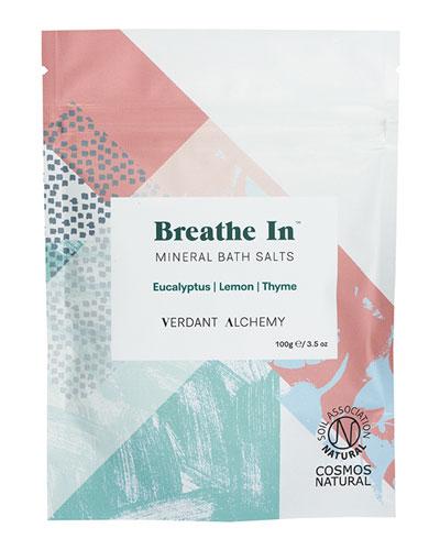 Breathe In Mineral Bath Salts  3.5 oz. / 100 mg