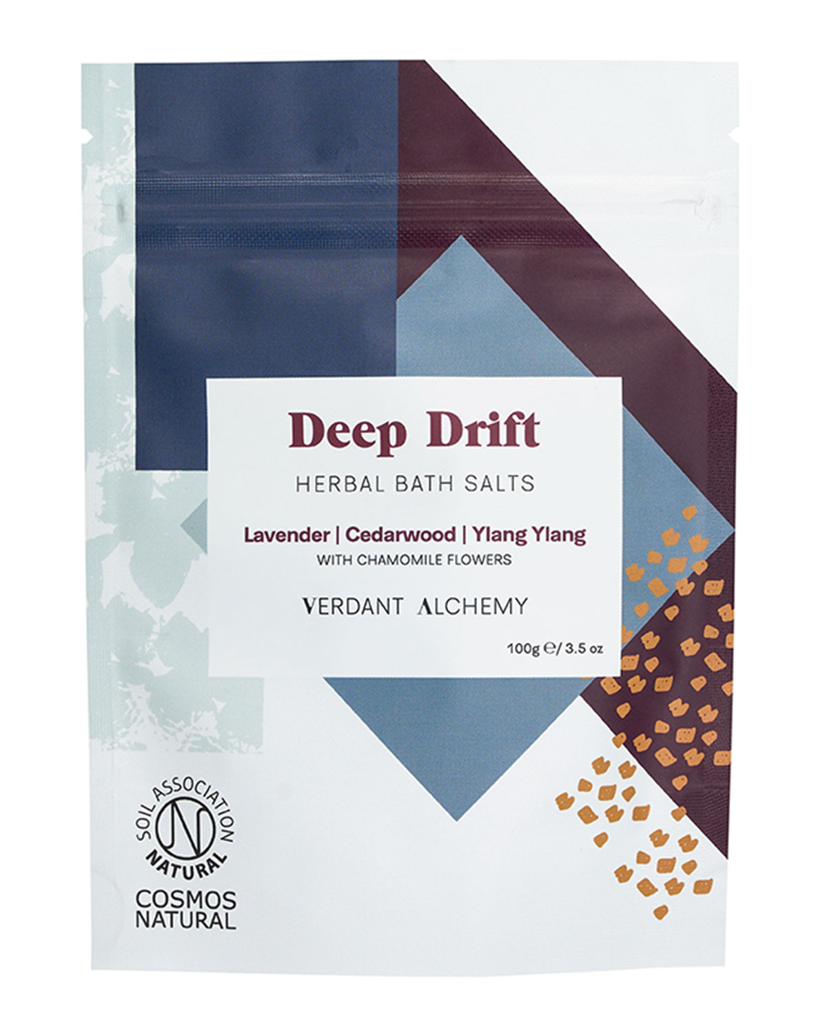 Verdant Alchemy 3.5 oz. Deep Drift Herbal Bath Salts