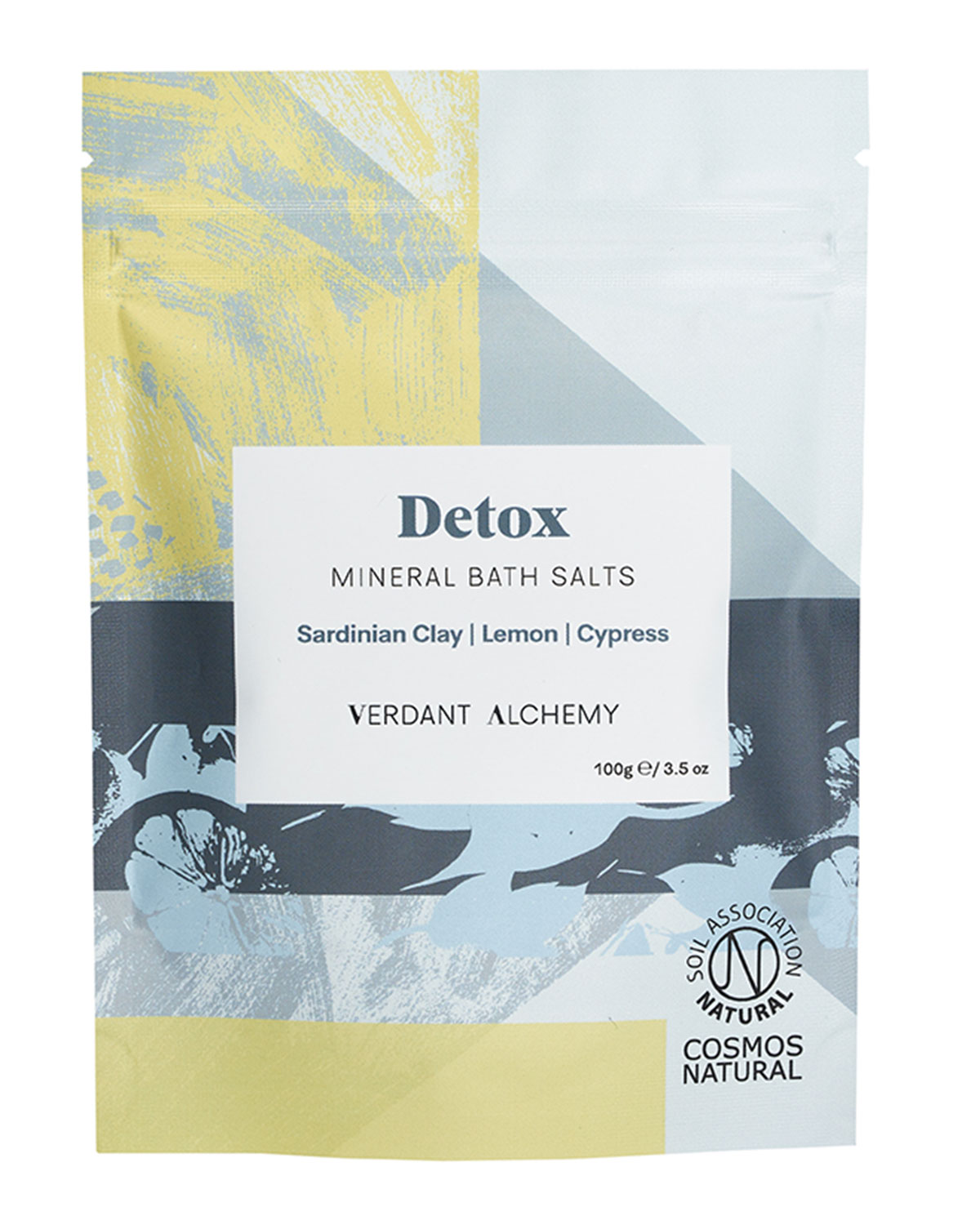 Verdant Alchemy 3.5 oz. Detox Mineral Bath Salts