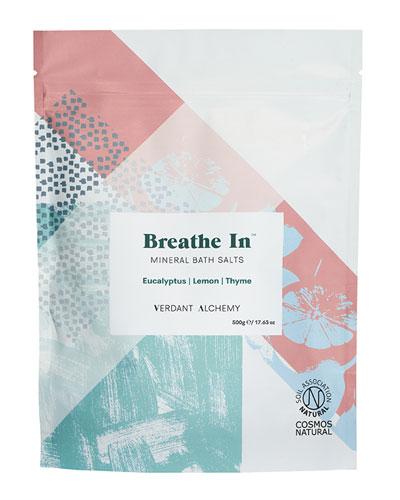 Breathe In Bath Salts   17.6 oz. / 500 mg