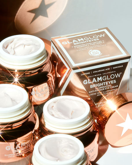 Glamglow BRIGHTEYES Illuminating Anti-Fatigue Cream, 0.5 oz. / 15 mL