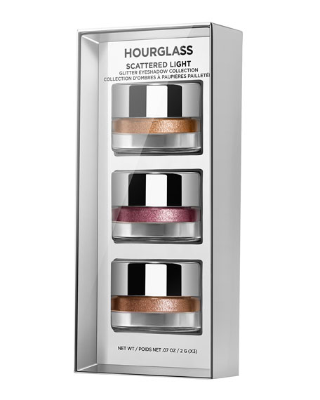 Image 2 of 5: Hourglass Cosmetics SCATTERED LIGHT GLITTER EYESHADOW COLLECTION