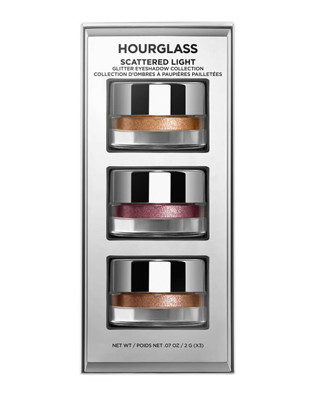 Image 1 of 5: Hourglass Cosmetics SCATTERED LIGHT GLITTER EYESHADOW COLLECTION