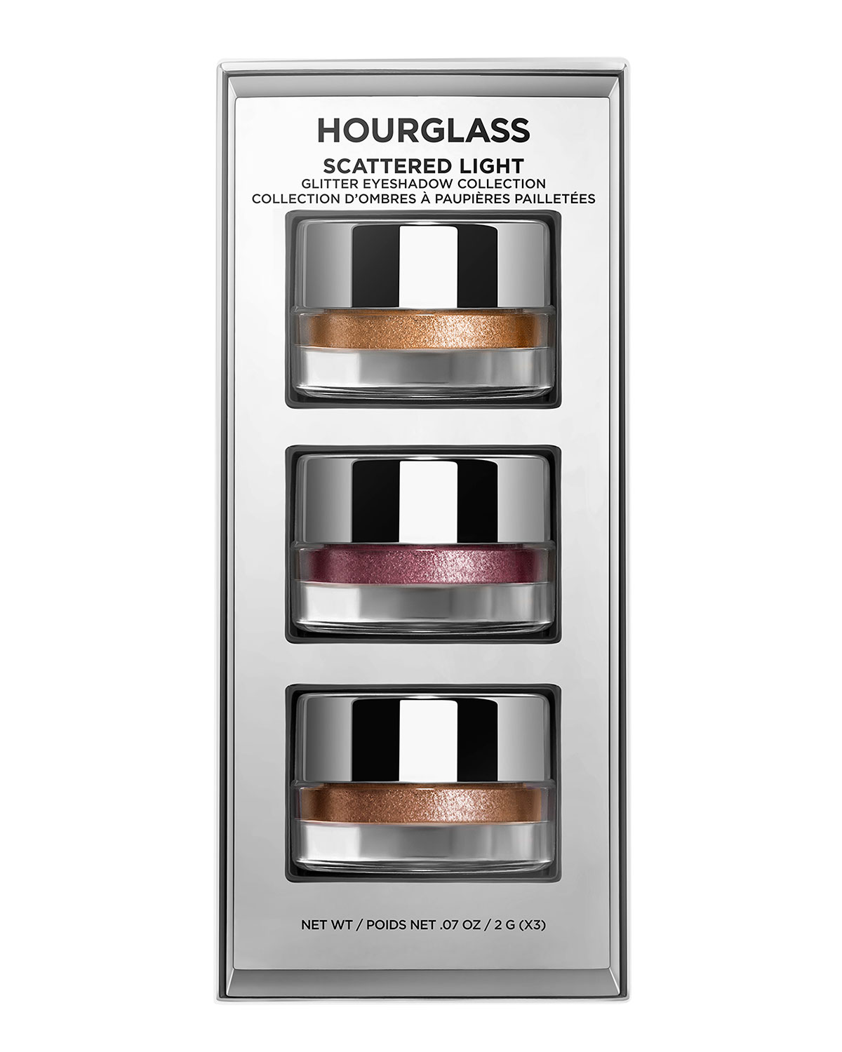 Hourglass Cosmetics SCATTERED LIGHT GLITTER EYESHADOW COLLECTION