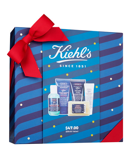 Kiehl's Since 1851 Men's Groom On The Go Set