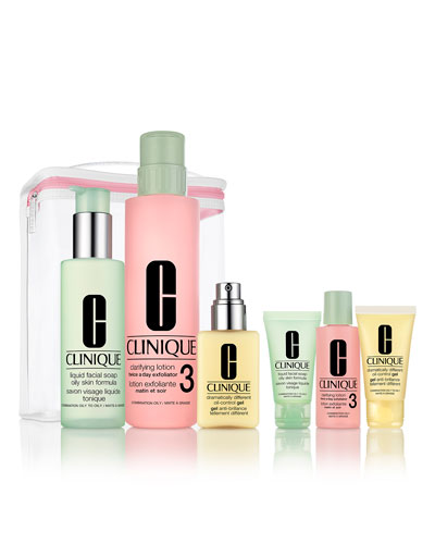 Great Skin Anywhere Set  Combination Oily to Oily ($98 Value)
