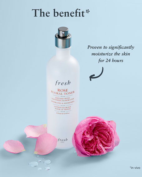 Fresh Rose Floral Toner, 8.5 oz.