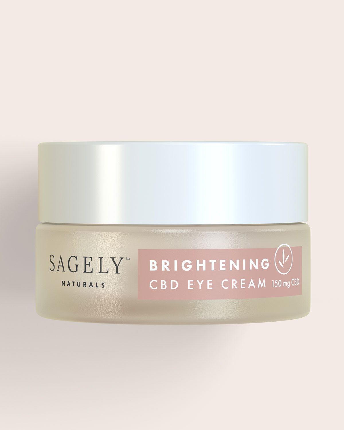 Brightening Eye Cream With 150 Mg Cbd by Sagely Naturals