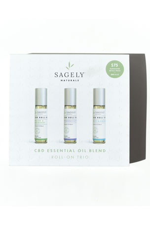 Sagely Naturals CBD Roll-On Gift Set