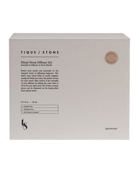 Tique/Stone Mandarin Rosemary Ritual Stone Diffuser