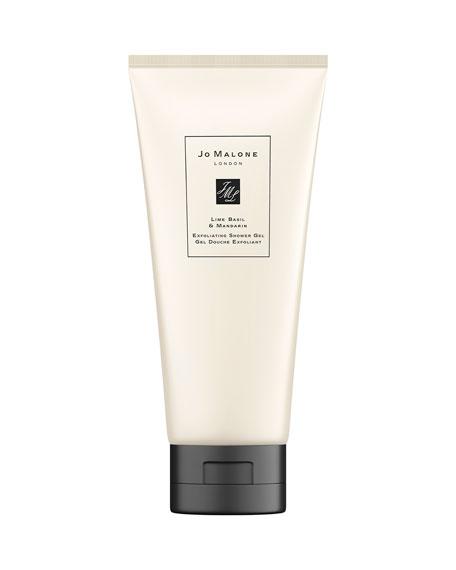 Jo Malone London Lime Basil & Mandarin Exfoliating Shower Gel, 6.7 oz./ 198 mL