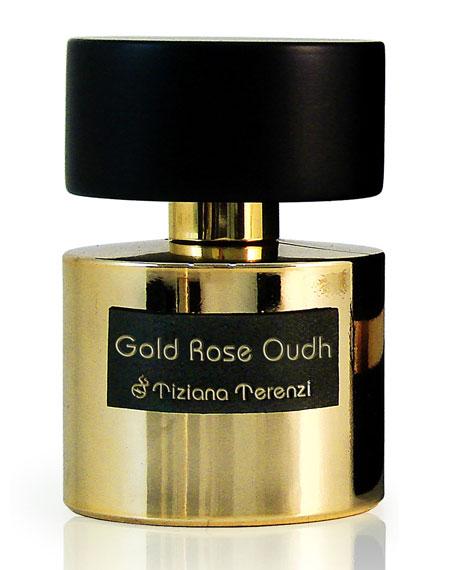Tiziana Terenzi Gold Rose Oudh Extrait de Parfum, 3.4 oz / 100 mL