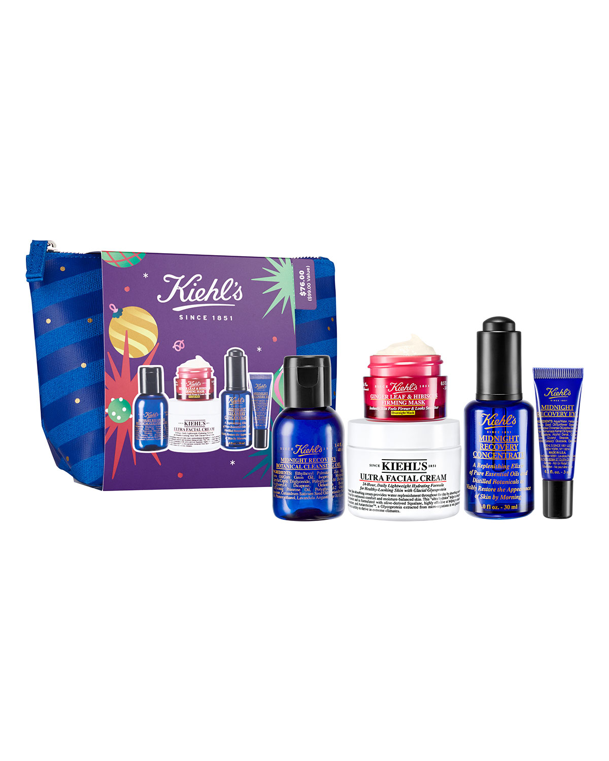 Midnight Must Haves by Kiehl's Since 1851