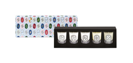 Diptyque Holiday Mini Candle Set, 1.7 oz. / 35g x 5