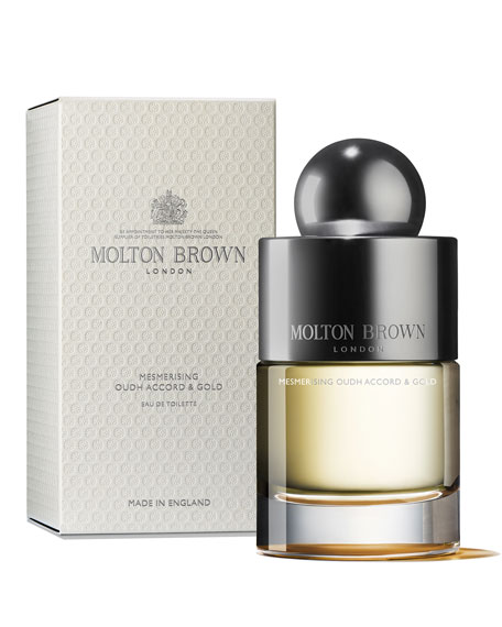 Image 1 of 2: Molton Brown 3.3 oz. Mesmerising Oudh Accord & Gold Eau de Toilette