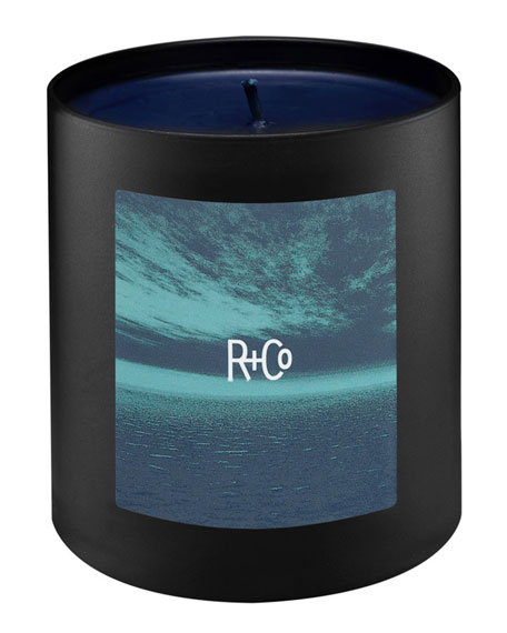 R+Co Dark Waves Scented Candle, 8 oz.
