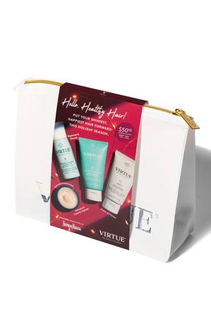 Virtue Healthy Hair Holiday Travel Kit