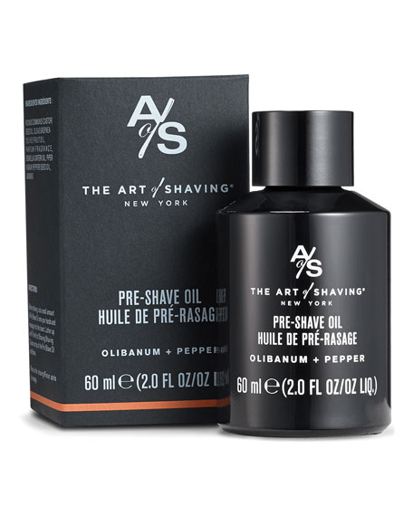 The Art of Shaving Pre-Shave Oil Olibanum & Pepper, 2 oz./ 60 mL