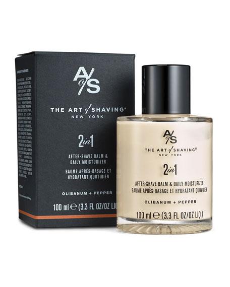 The Art of Shaving After-Shave Balm Olibanum & Pepper, 3.3 oz./ 100 mL