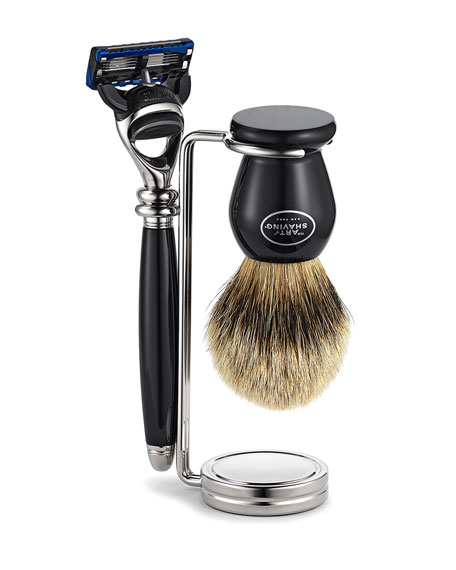 The Art of Shaving Compact Stand Brush & Razor