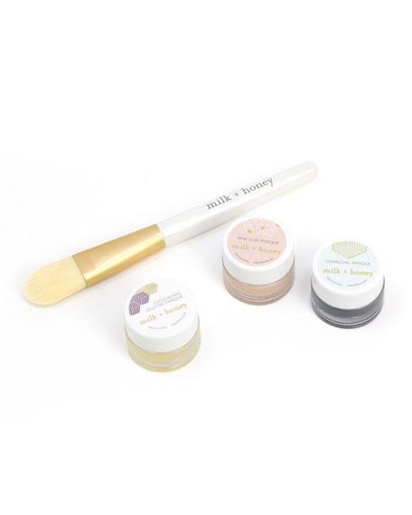milk + honey Skincare Masque Trio