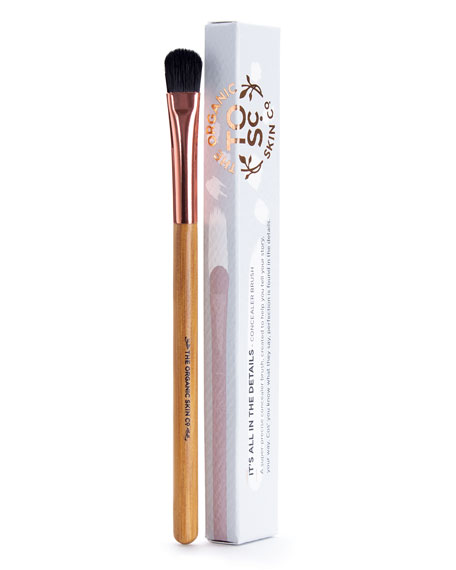The Organic Skin Co. Its All About The Details Concealer Makeup Brush