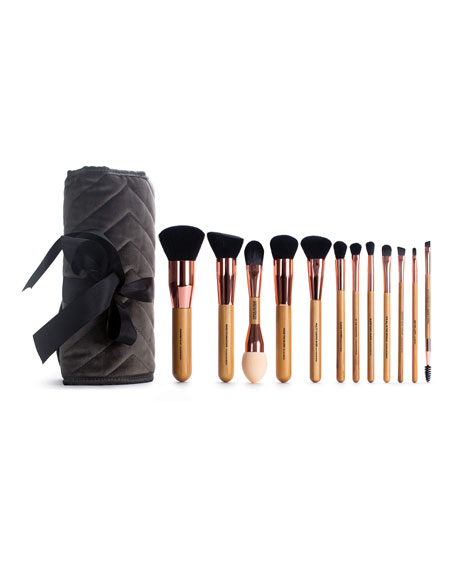 The Organic Skin Co. A Whole Lot of Lovely Makeup Brush Set