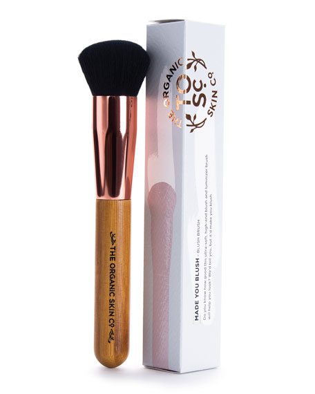 The Organic Skin Co. Made You Blush Luminizer Makeup Brush