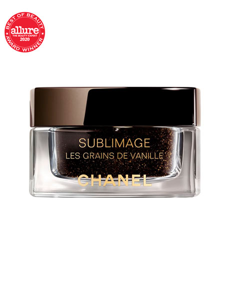 CHANEL <b>SUBLIMAGE LES GRAINS DE VANILLE</b><br>Purifying and Radiance-Revealing Vanilla Seed Face Scrub