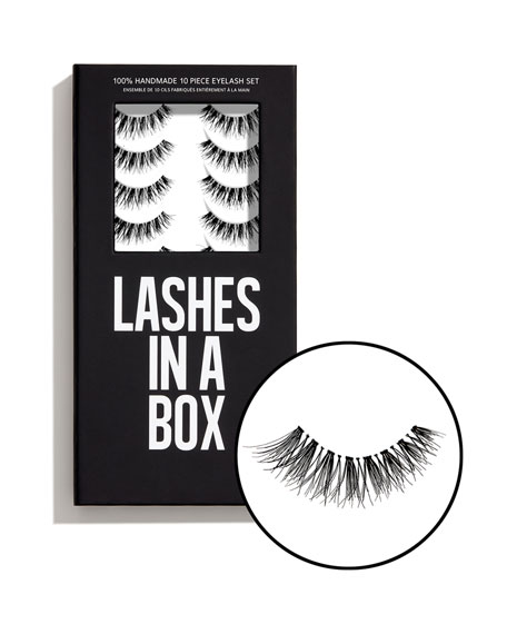 Lashes in a Box No. 24 Lashes, 10 Pairs