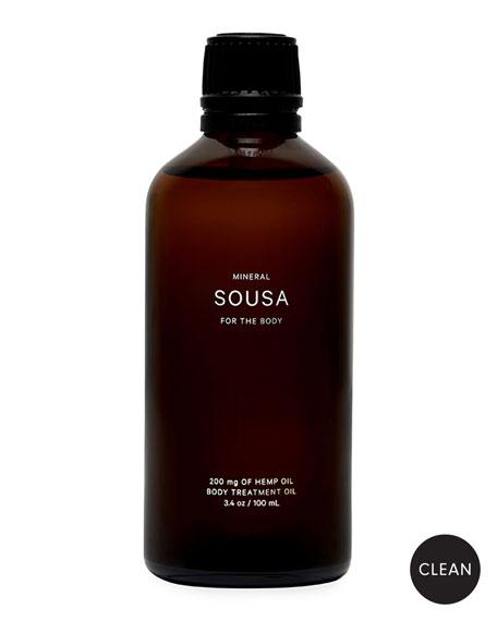 Mineral Sousa Body Treatment Oil with 200mg CBD, 3.4 oz. / 100 ml