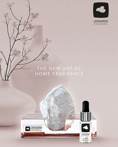 Leonardo Rose Essenza Stone Diffuser Set