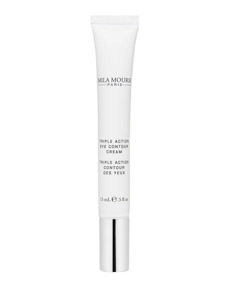 Mila Moursi Triple Action Contour Des Yeux<br>Triple Action Eye Contour Cream, 0.5 oz. / 15 mL