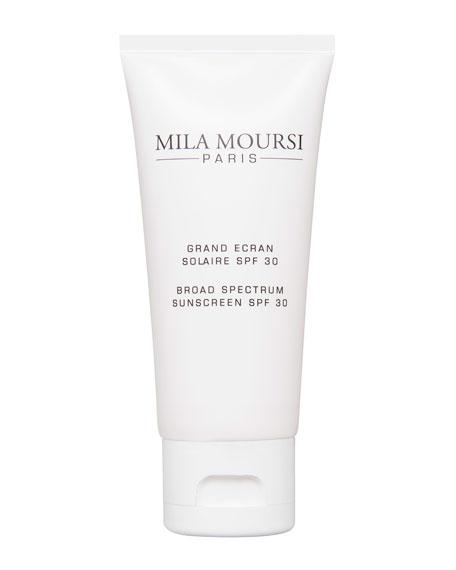 Mila Moursi Grand Ecran Solaire SPF 30<br>Broad Spectrum Sunscreen SPF 30, 1.7 oz. / 50 mL