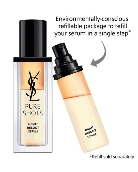 Yves Saint Laurent Beaute Pure Shots Night Reboot Resurfacing Serum, 1 oz./ 30 mL