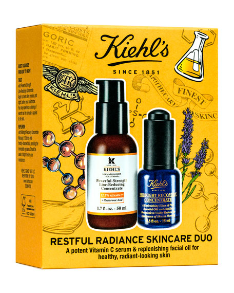 Kiehl's Since 1851 Restful Radiance Skincare Duo