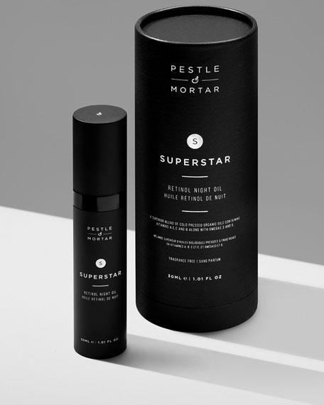Pestle & Mortar Superstar Night Oil, 1 oz./ 30 mL